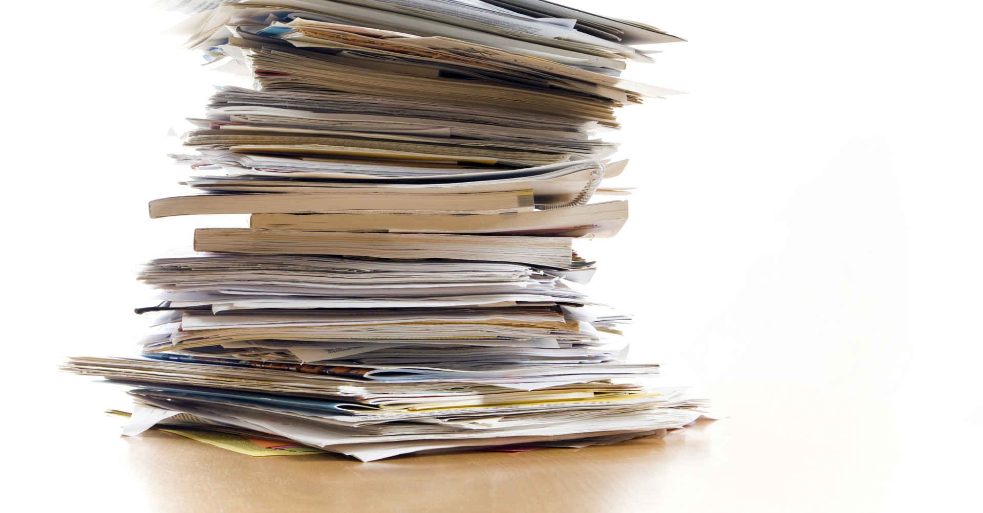 How to organise personal documents